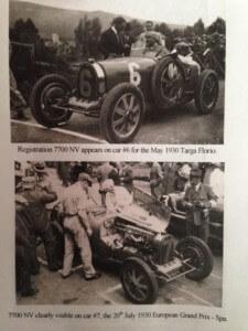 Racing at 1930 Targa Florio and Spa GP